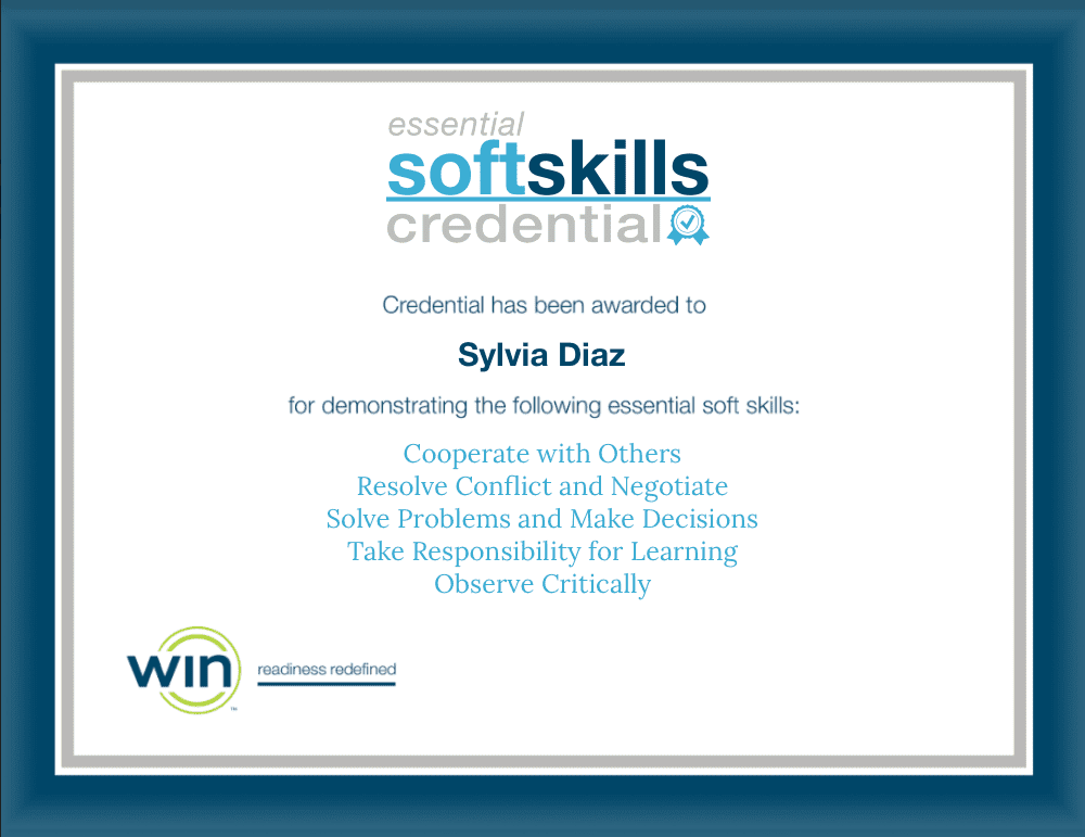 Essential Soft Skills Credential